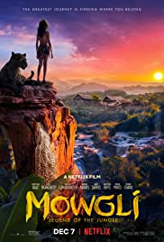 regarder Mowgli : la légende de la jungle en Streaming